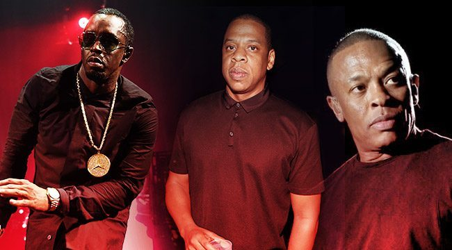Jay Z, Puff Daddy And Dr. Dre Are In A Tight Three-Way Race To Become Hip-Hop's First Billionaire