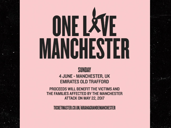Ariana Grande will host a huge benefit concert in Manchester this weekend...