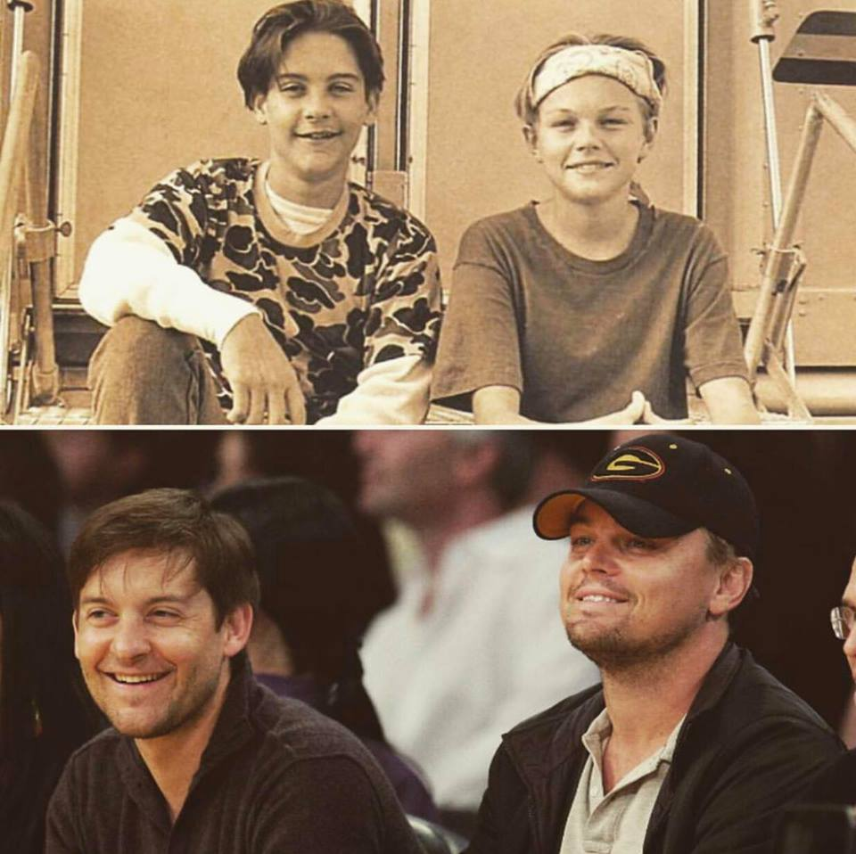 #BlakesTake: Leonardo DiCapario And Toby Maguire Do Totally Normal Thing Together Over The Weekend