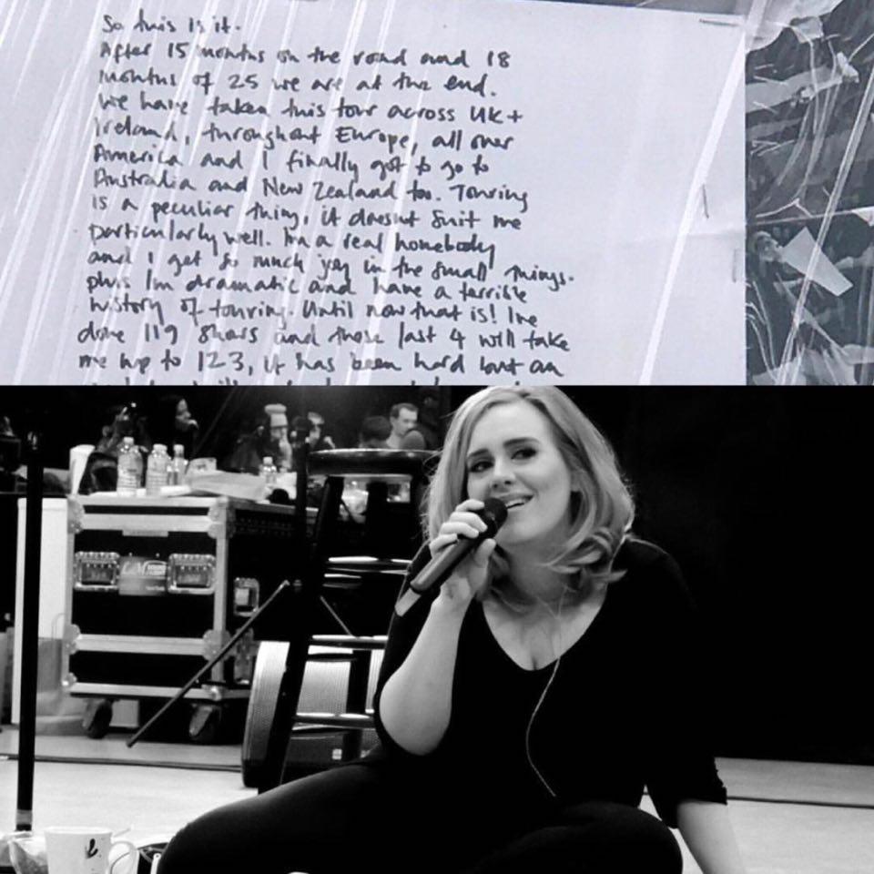#BlakesTake: Adele Might Never Tour Again