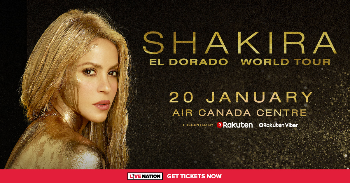 Nothin' But 90s @ 9 – Win tickets to Shakira