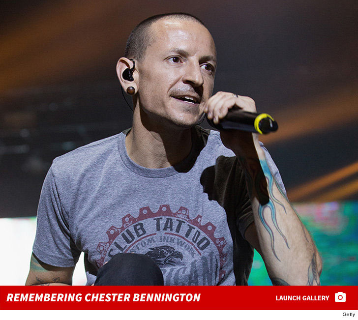 R.I.P. Chester Bennington of Linkin Park who took his own life