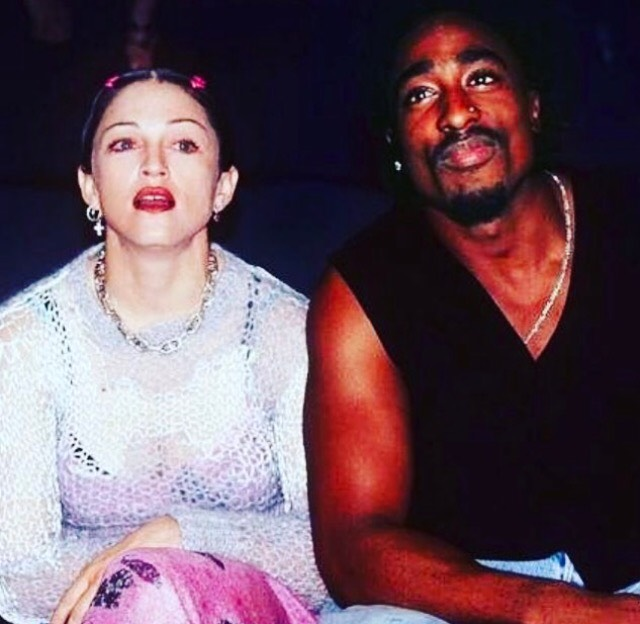 Race Was A Factor In Tupac And Madonna's Breakup