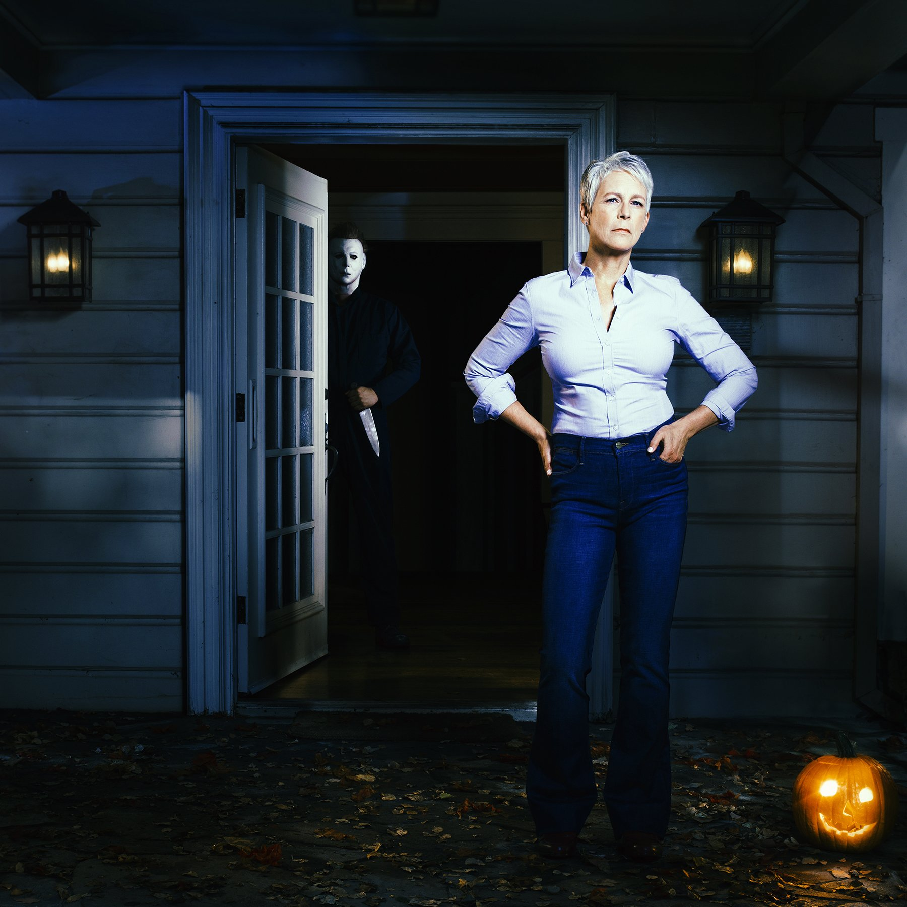 Jamie Lee Curtis is back for another HALLOWEEN!