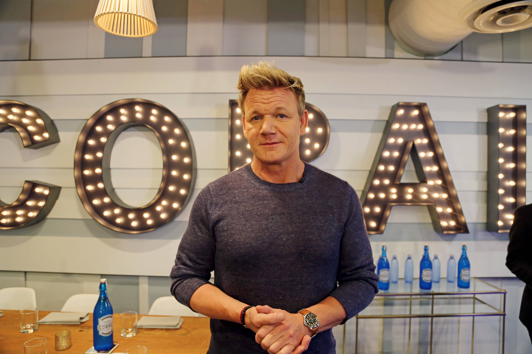 Chef Gordon Ramsay brought a signature dish to Toronto...