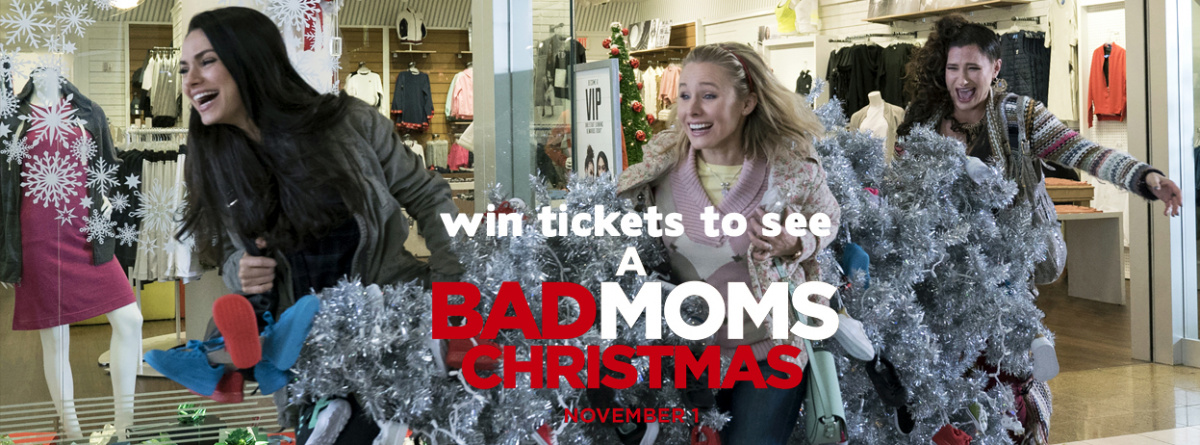 Old Skool Throwback Lunch- Listen to win the Advanced screening of 'Bad Mom's Christmas'