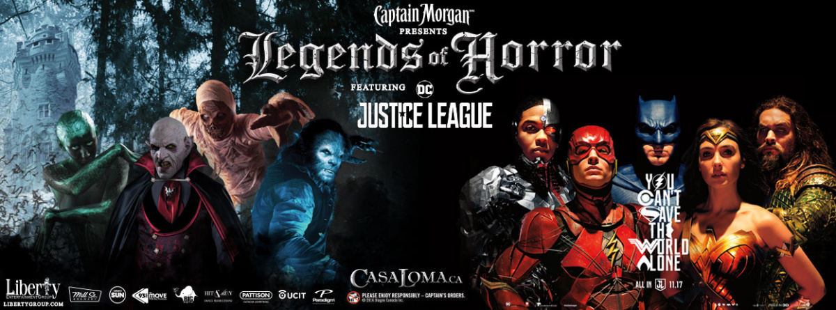 Old Skool Throwback Lunch- Listen to win Casa Loma Legends of Horror
