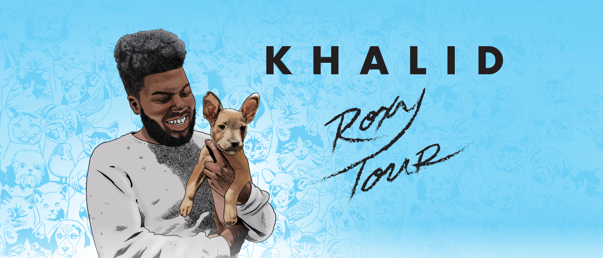 "Listen for your chance to win 2 Tickets to Khalid ""Roxy Tour"""