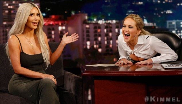 Does Kim K Pass Gas In Front Of Kanye? WATCH Her Hilarious Interview With Jennifer Lawrence!