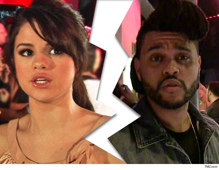 Selena and The Weeknd are no more...