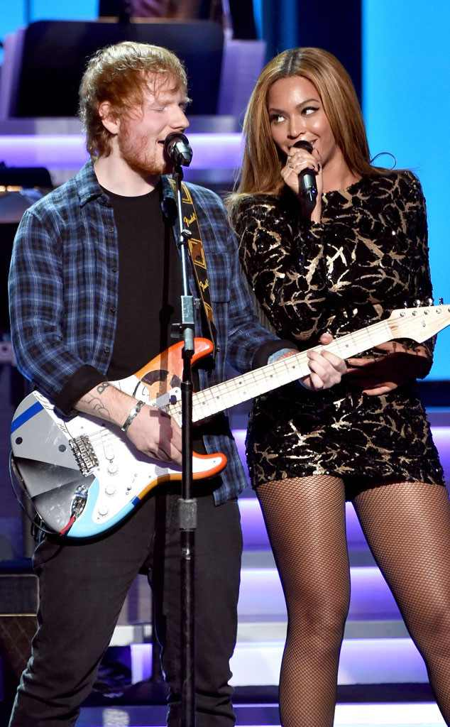 Ed Sheeran Claims Beyoncé Changes Her E-mail Address Every Week