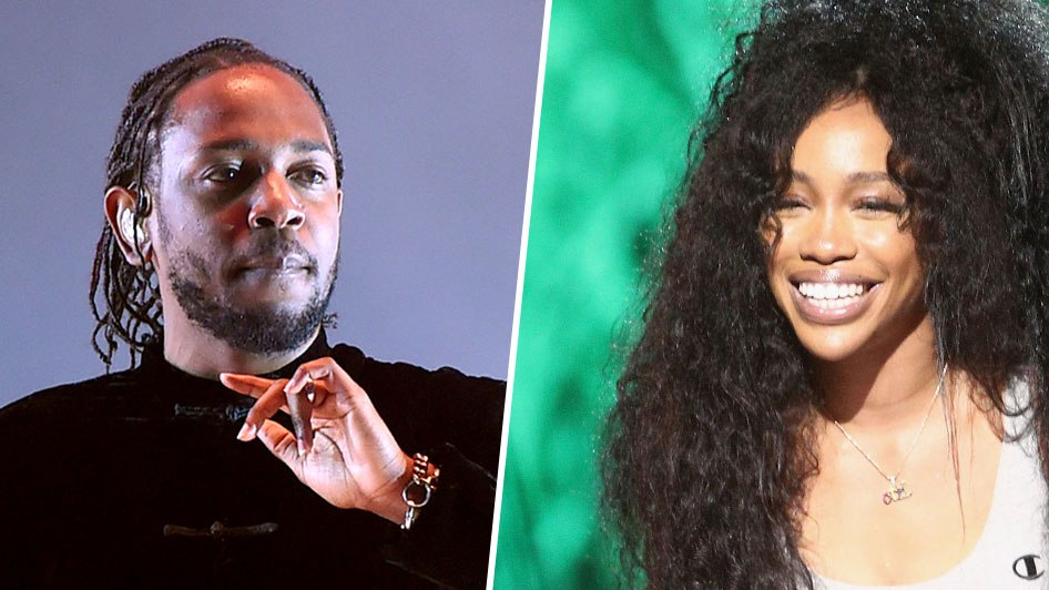 "NEW VIDEOS: Kendrick Lamar ""LOVE"" & SZA ""The Weekend"""