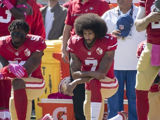 Kaepernick a finalist for 'TIME' Person of Year