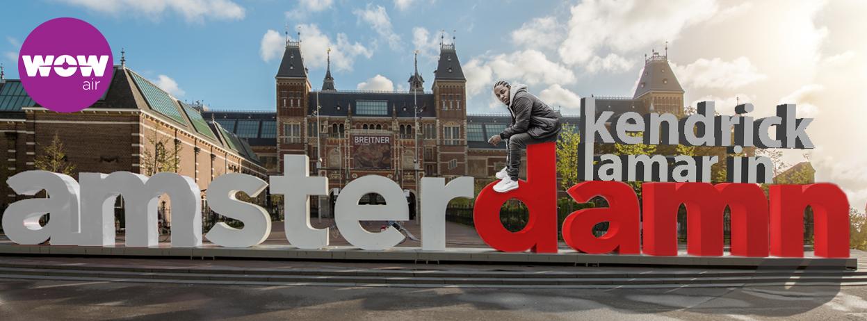 Kendrick Lamar in Amsterdam
