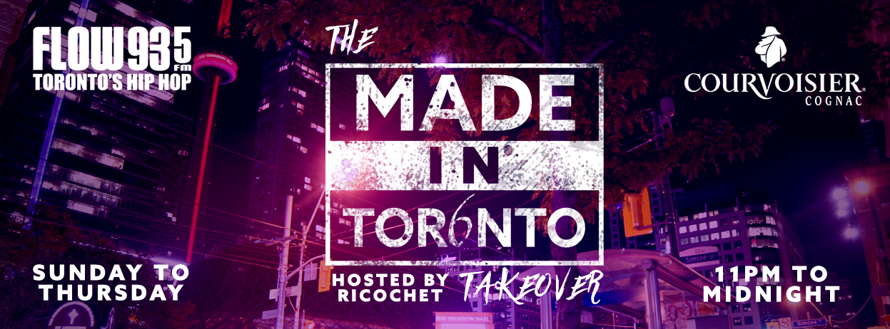 The MADE IN TORONTO Takeover | FLOW 93 5