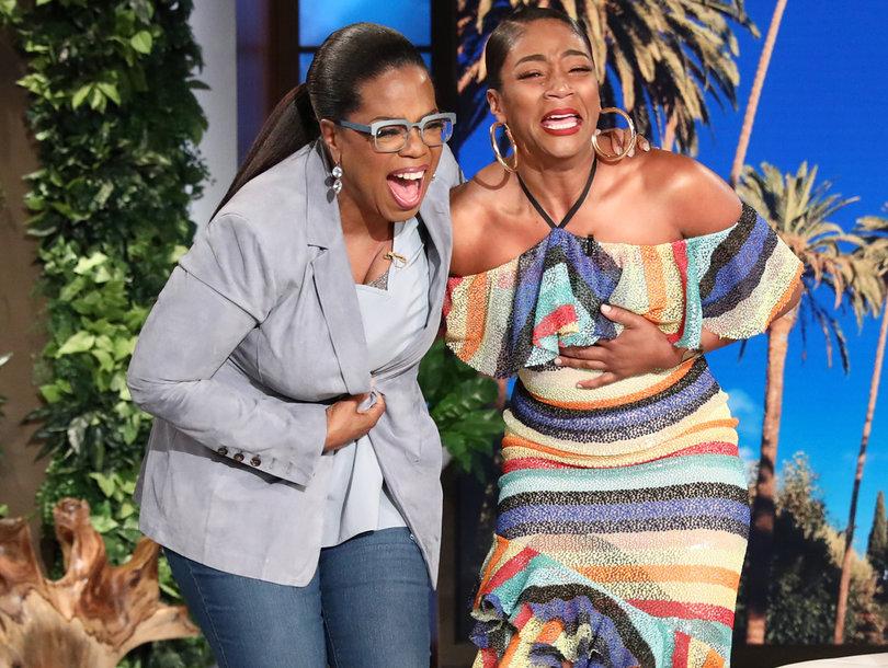 WATCH: Tiffany Haddish Lose Her S*** When Oprah Surprises Her on Ellen