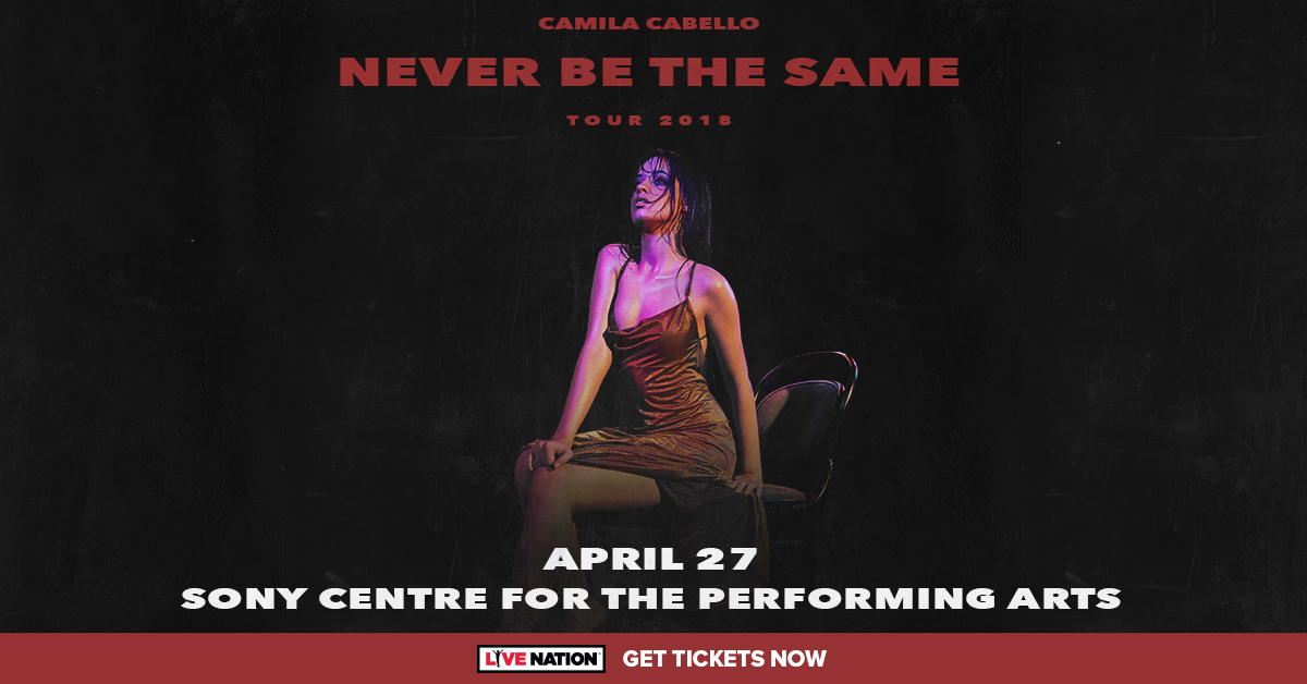 Listen to win Camila Cabello Tickets