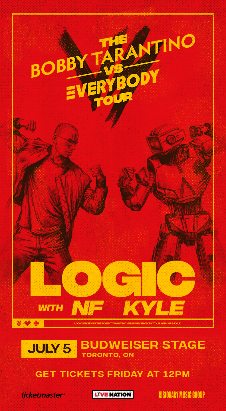 Listen to win Tickets to Logic with NF