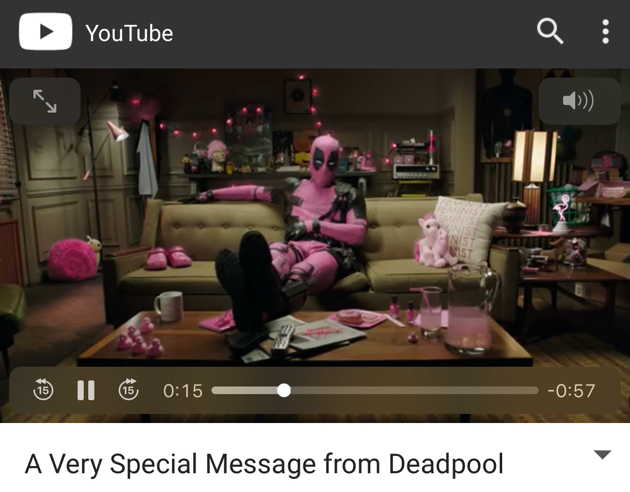 WATCH: Ryan Reynolds Auctioning Off Pink Deadpool Suit to Fight Cancer
