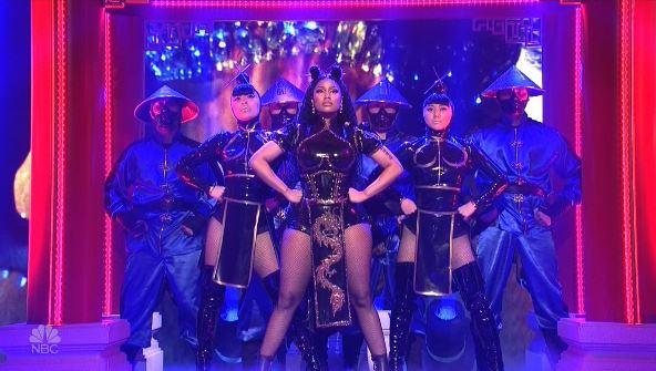 "ICYMI: Nicki Minaj Performed ""Chun-Li"" On SNL This Weekend"