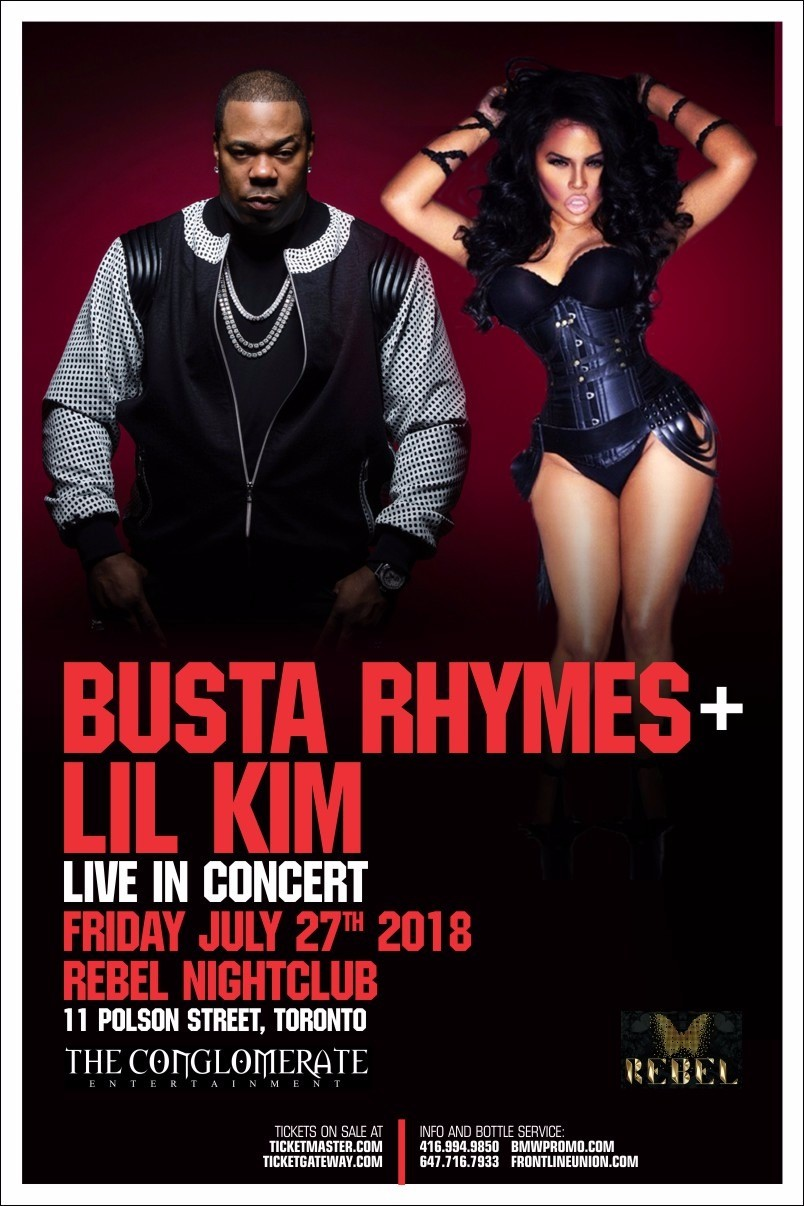 Listen to win tickets to Busta Rhymes & Lil Kim