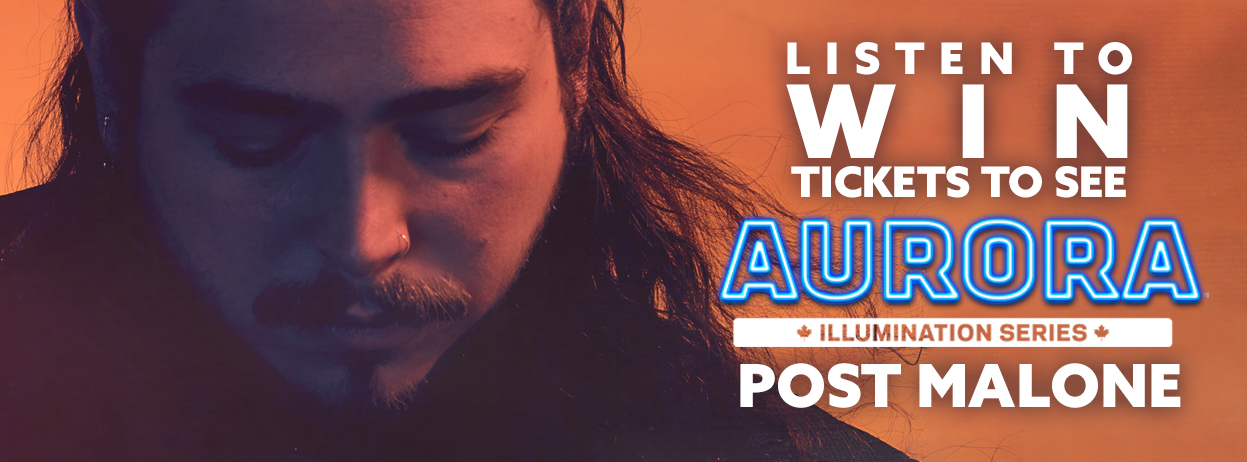 Win Tickets to Post Malone part of Aurora's 2018 Illumination Series