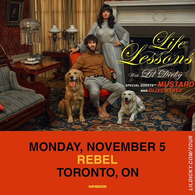 Listen to win 2 Tickets to Lil Dicky
