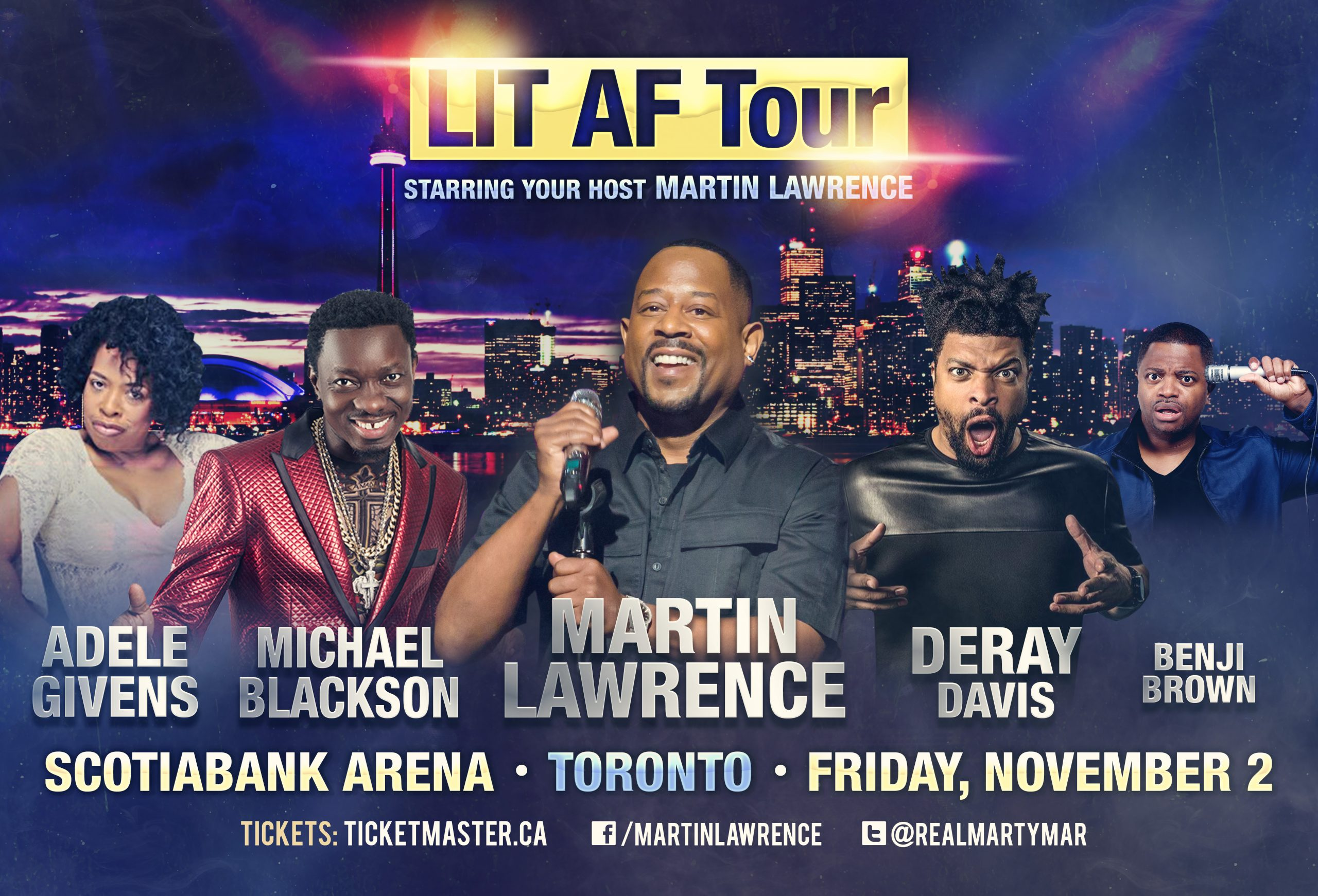 Listen to win tickets to Lit AF Tour