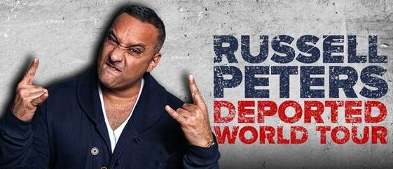 Listen to win tickets to see Russell Peters