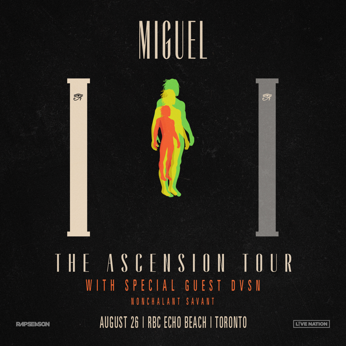 Listen to win tickets to Miguel and DVSN  and A Meet And Greet with Miguel!