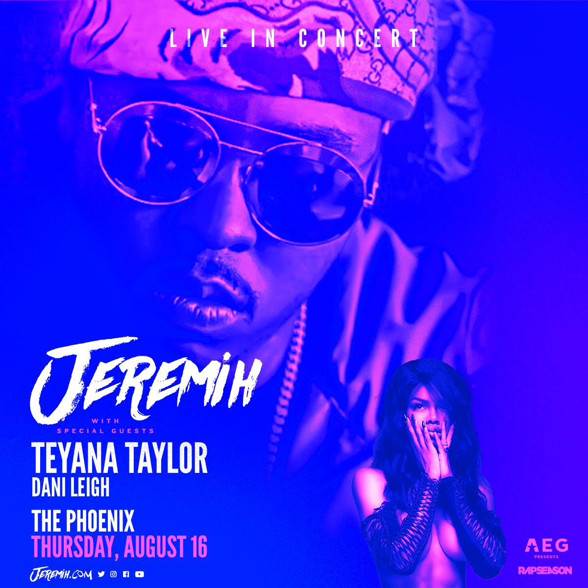 Listen to win 2 Tickets to Jeremih