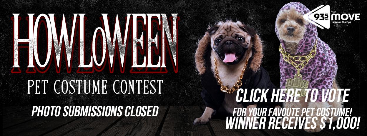 HOWLoWEEN – Pet Costume Contest – VOTE NOW!