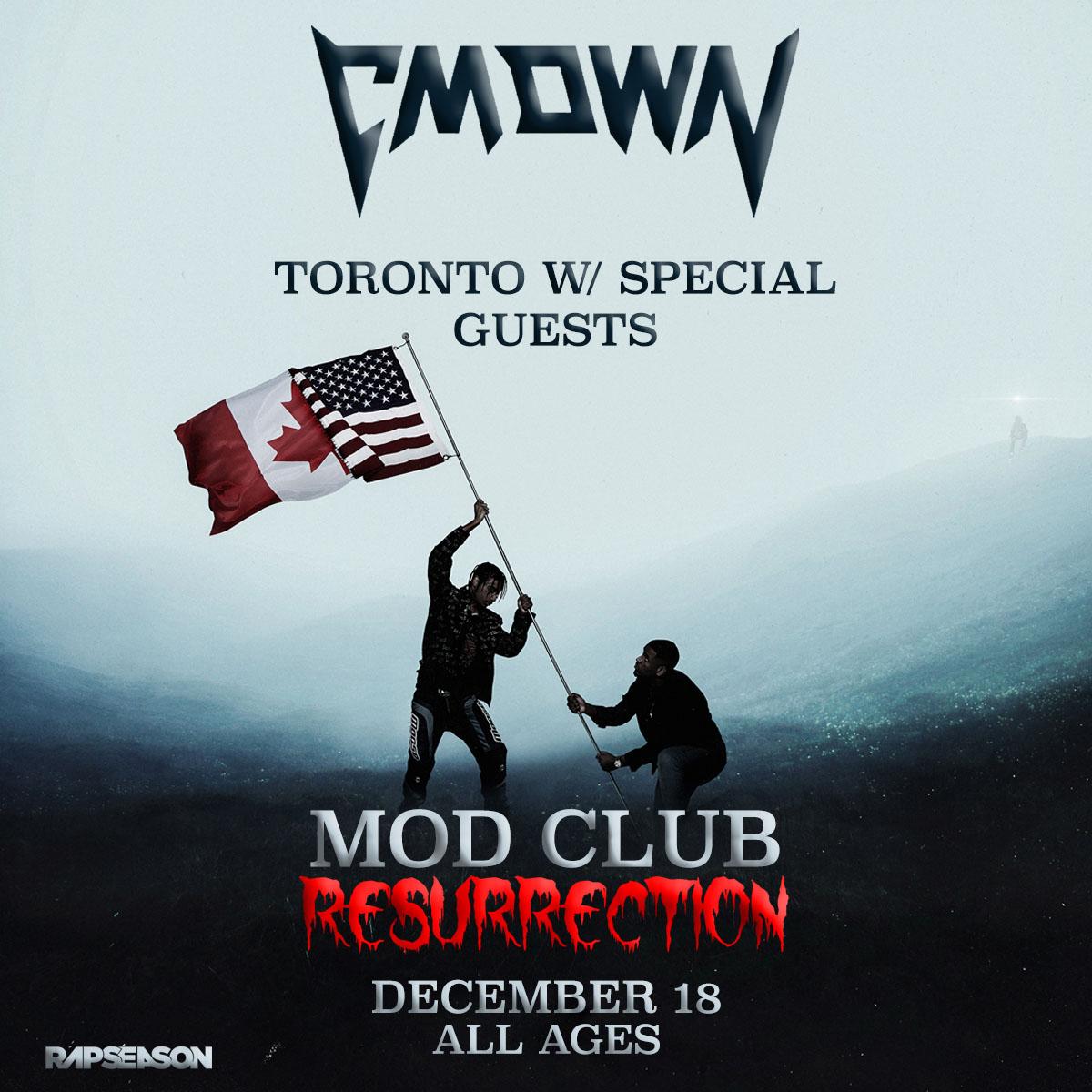 Listen to win tickets to CMDWN