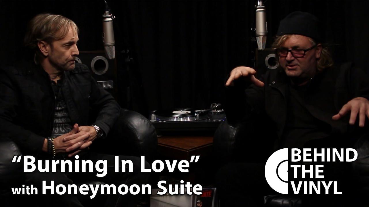 Behind The Vinyl Burning In Love Honeymoon Suite