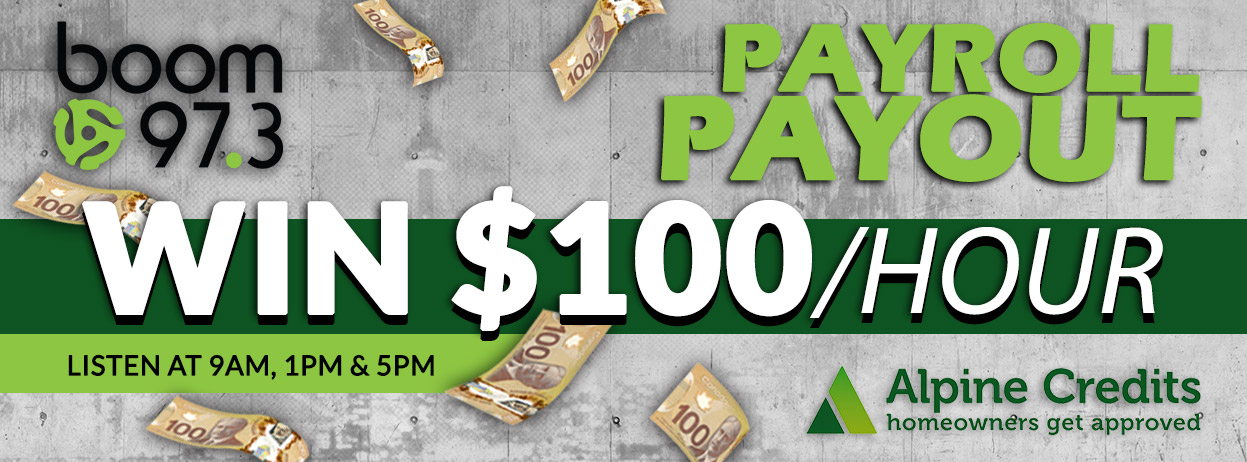 Payroll Payout | boom 97 3 - 70s 80s 90s