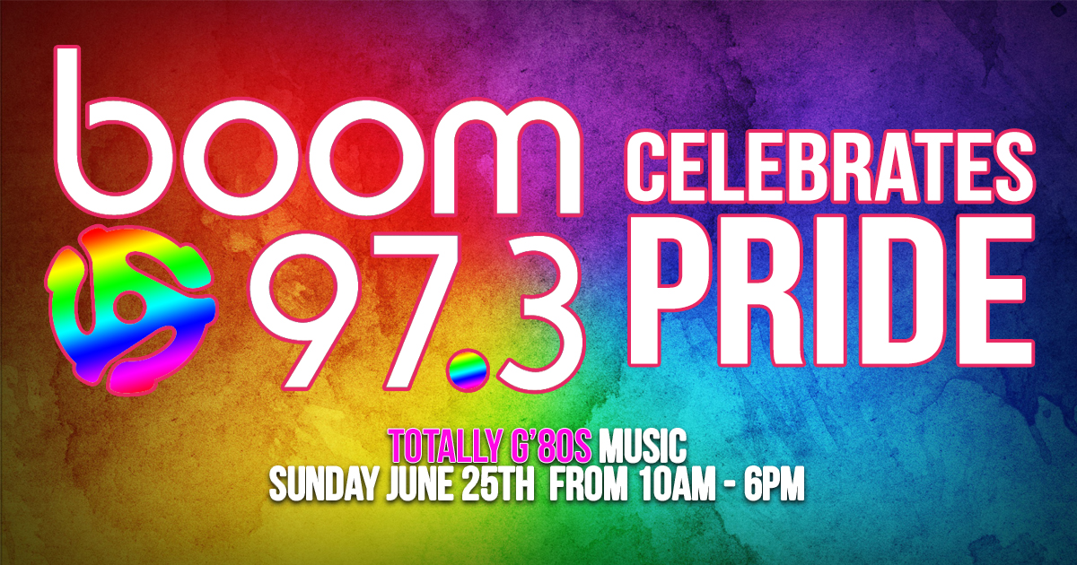 boom 97.3 Celebrates Pride