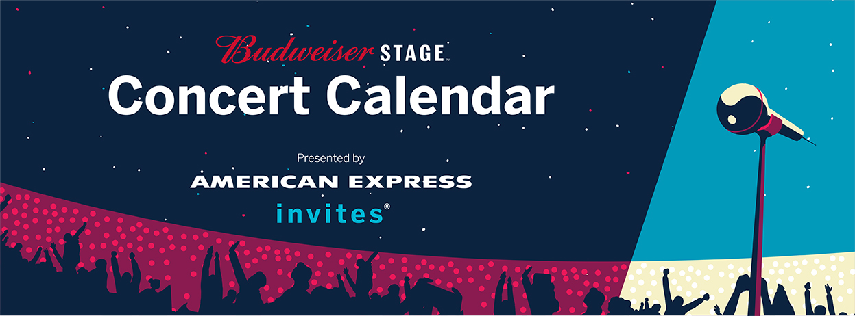 Budweiser Stage Concert Calendar