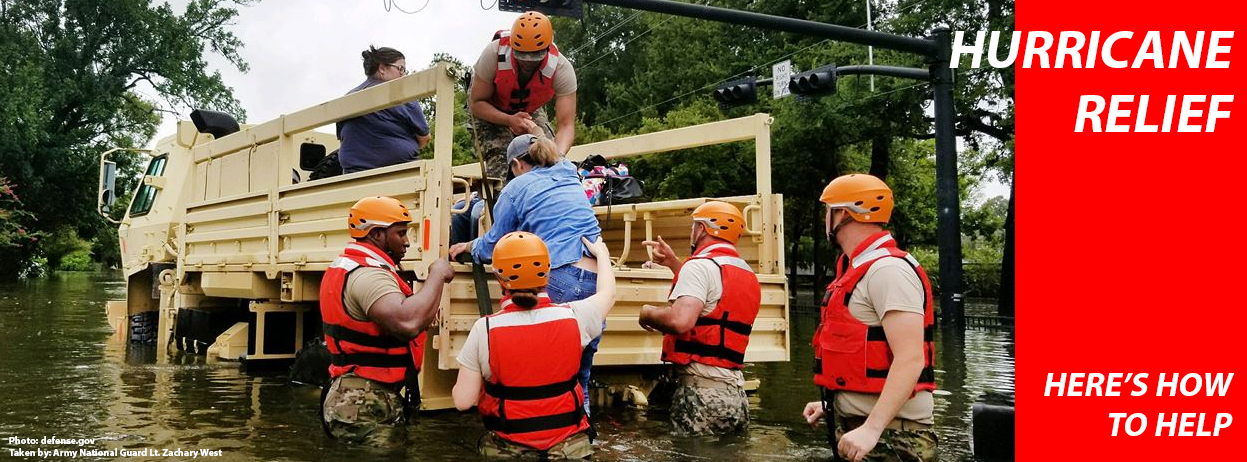 Hurricane Relief - Here's how to help