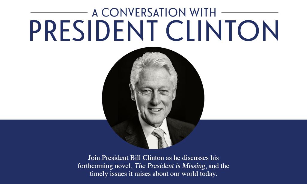 boom Breakfast with Stu – Win VIP Tickets to See President Bill Clinton