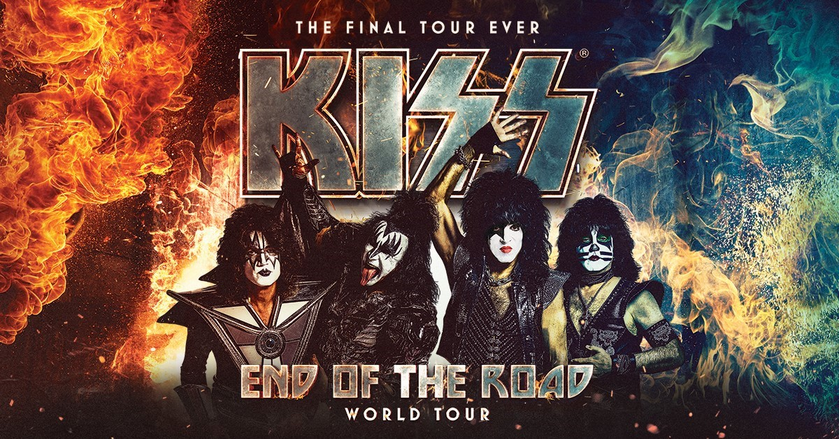 boombox Lunch – See KISS – End of the Road World Tour at Scotiabank Arena!
