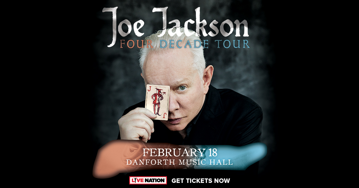 boombox Lunch – See Joe Jackson in Concert!
