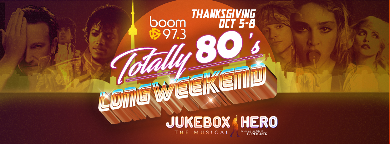 Totally 80's Long Weekend
