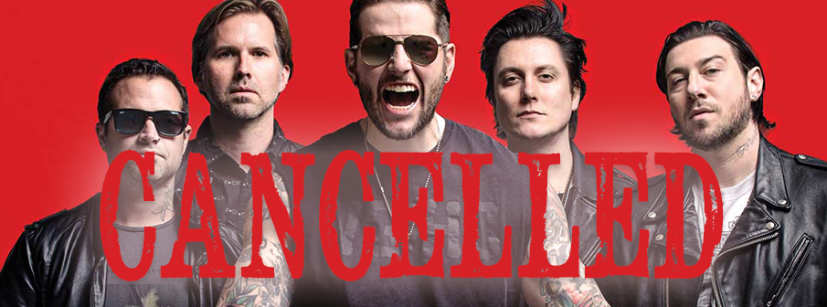 Avenged Sevenfold Cancelled