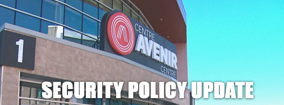 Updated Security Policy for Avenir Centre