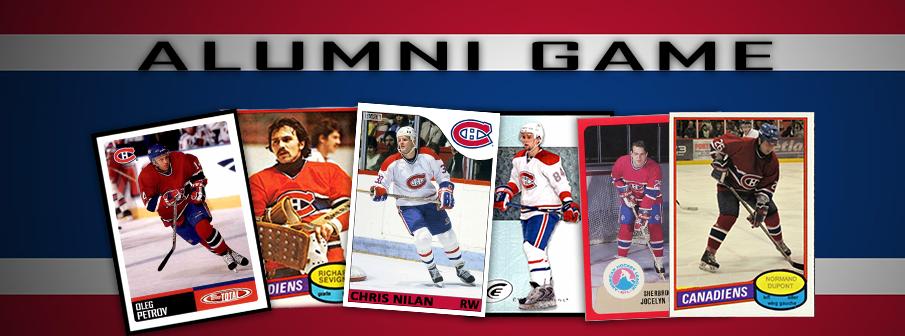Canadiens Alumni Game