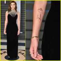 Emma Watson's Tattoo Typo