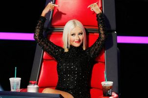 Christina Aguilera Throws Shade At 'The Voice'