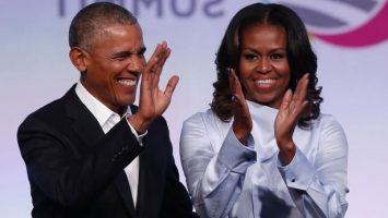 Barack And Michelle Dance At Bey & Jay's Concert