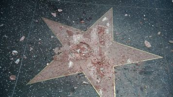 """Trump's Hollywood Walk Of Fame Star 'Completely Destroyed"""" By Vandal"""