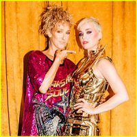 Katy Perry & Celine Dion Fan Girl Over Each Other